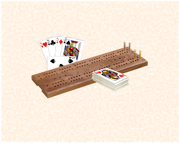 To learn cribbage all you need is cribbage board and a pack of cards.